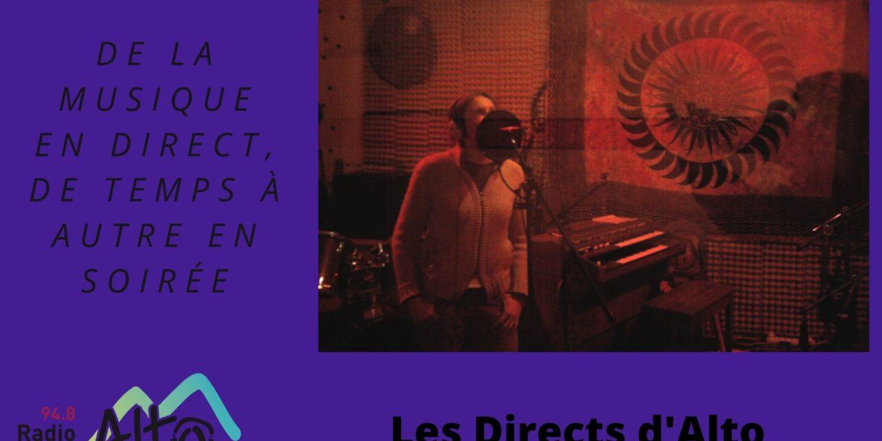 En Direct  avec Julien Paget, Solo Batterie en Impro – les Directs d'Alto