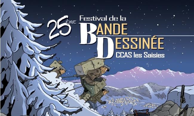 25ème Salon de Bande Dessinée des Saisies – Friand'Art
