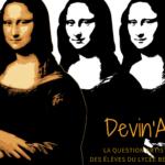 Chronique Devin'Art # 10, La Chronique d'Alexanne & Yasmine