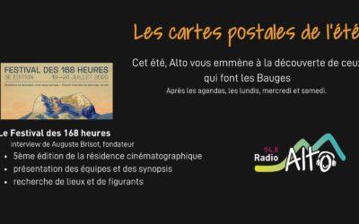 Les cartes postales de l'été – le Festival des 168 heures