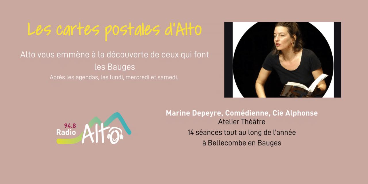 Les cartes postales d'Alto – Atelier théâtre pour les enfants en Bauges