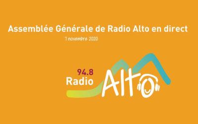 Assemblée générale de Radio Alto en direct – 7 novembre 2020
