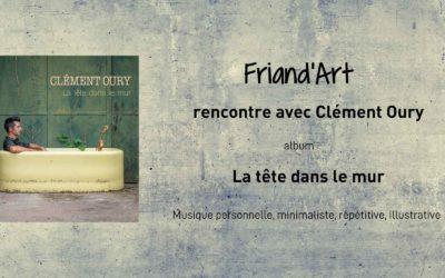 La Tête dans le mur de Clément Oury, un univers musical peuplé de sons du quotidien