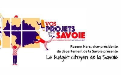 Le budget citoyen de la Savoie