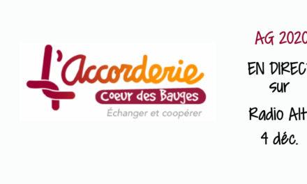 AG du 4 décembre 2020 Accorderie du cœur des Bauges