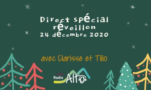 Direct spécial réveillon – 24 décembre 2020