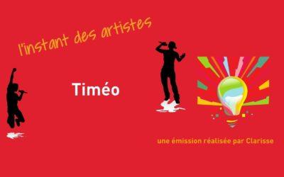 L'instant des artistes – Timéo