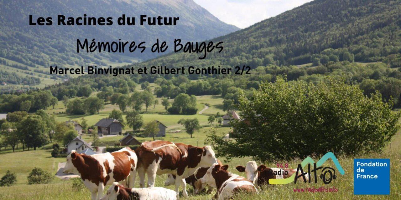 Mémoires des Bauges – Marcel Binvignat et Gilbert Gonthier 2/2