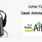 Coton-tige : Claude donneur de voix