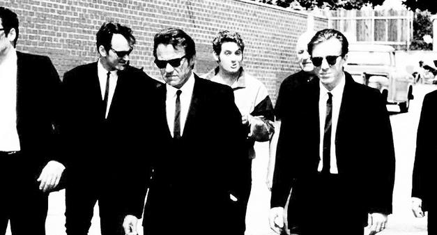 Reservoir Dogs – Carrés, Bulles et Grand Écran