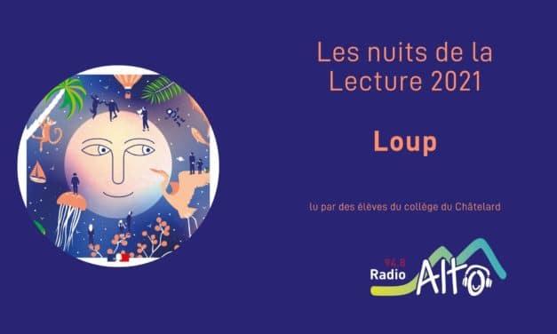Loup-Garou – Nuits de la lecture 2021