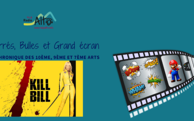 Kill Bill – Carrés, Bulles et Grand Écran