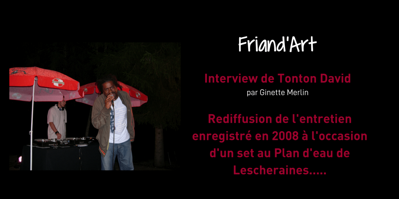 Tonton David – Friand'Art