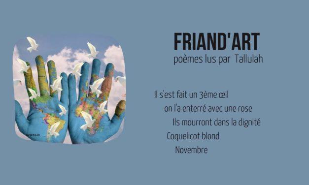Poèmes – Friand'Art
