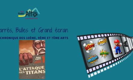 L'Attaque des Titans – Carrés, Bulles et Grand Écran