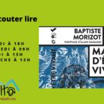 Manière d'être vivant, Baptiste Morizot – Écouter Lire