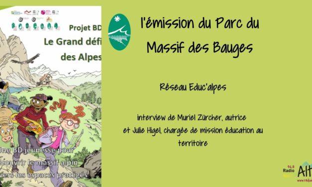 """BD jeunesse """"le grand défi des Alpes"""" – les Racines du Futur"""