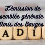 L'émission radio de l'assemblée générale des Amis des Bauges