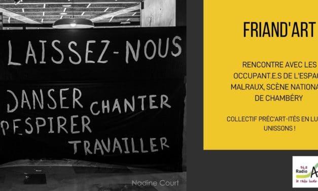 Occupation de Malraux, scène nationale à Chambery
