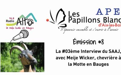 Meije Wicker, Chevrière , réalisée par les résidents du SAAJ d'Aix-les-Bains – Coton Tige FM