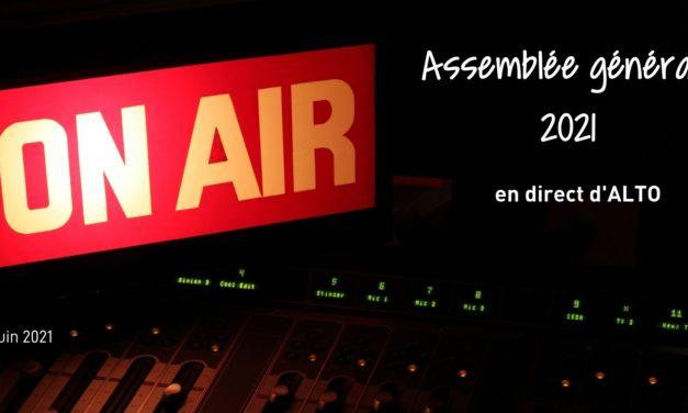 Assemblée générale de Radio Alto, 25 juin 2021