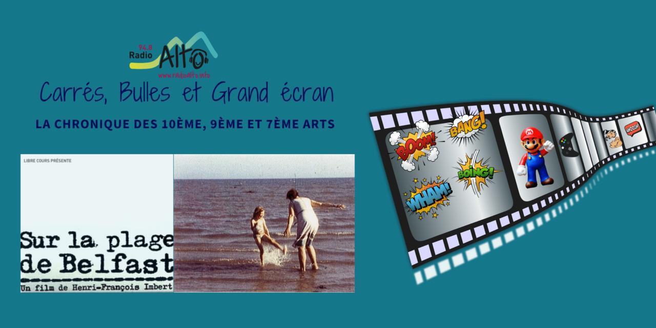 Sur la plage de Belfast, Court métrage – Carrés, Bulles et Grand Écran
