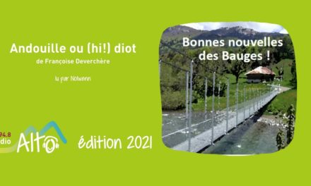 Andouille ou (hi!) diot de Françoise Deverchère lu par Nolwenn