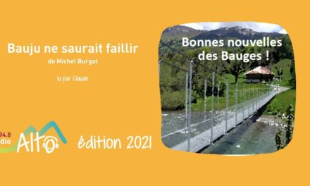 Bauju ne saurait faillir de Michel Burgat lu par Claude