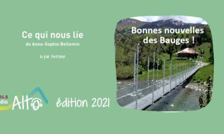 Ce qui nous lie de Anne-Sophie Bellemin lu par Antoine