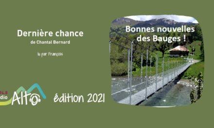 Dernière chance de Chantal Bernard lu par François