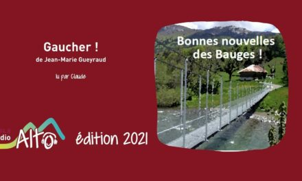 Gaucher! de Jean-Marie Gueyraud lu par Claude