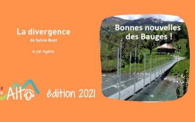 La divergence de Sylvie Buet lu par Agathe