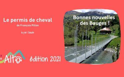 Le permis de cheval de François Pillon lu par Claude