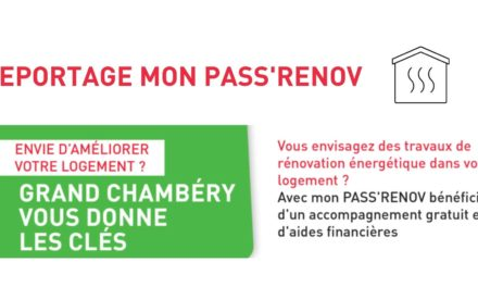 Mon PASS'RENOV de Grand Chambéry