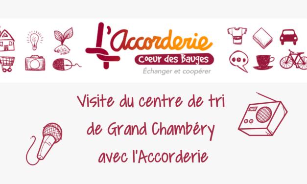Visite du Centre de Tri de Grand Chambéry avec l'Accorderie
