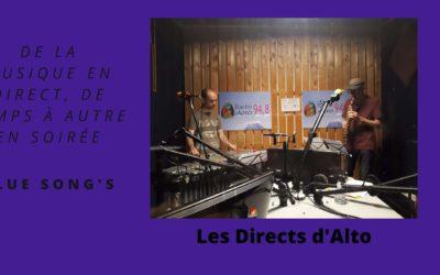 En Direct  avec Blue Song's – les Directs d'Alto