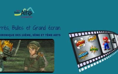 Zelda Twilight Princess – Carrés, Bulles et Grand Écran