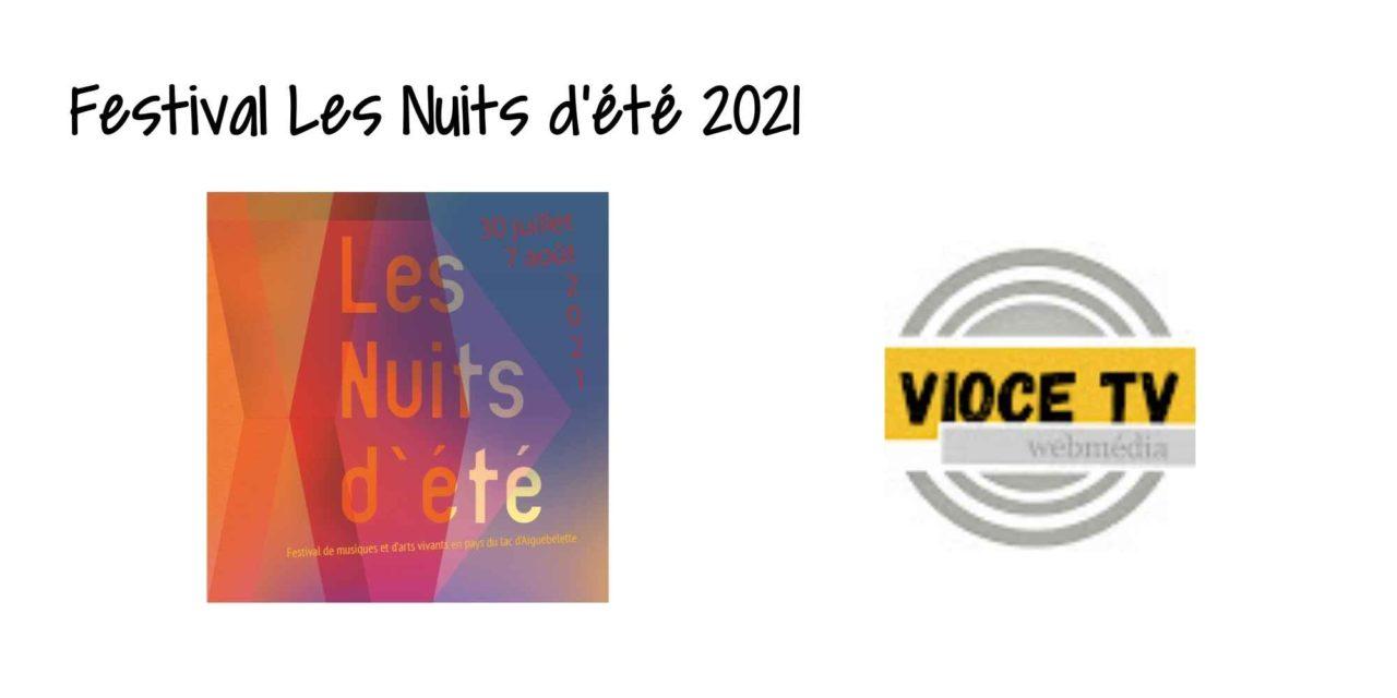 Festival Les Nuits d'été 2021